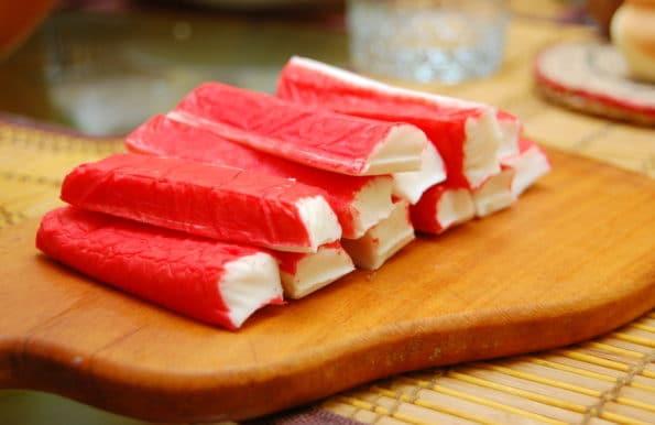 Крабовые палочки для салата красное море