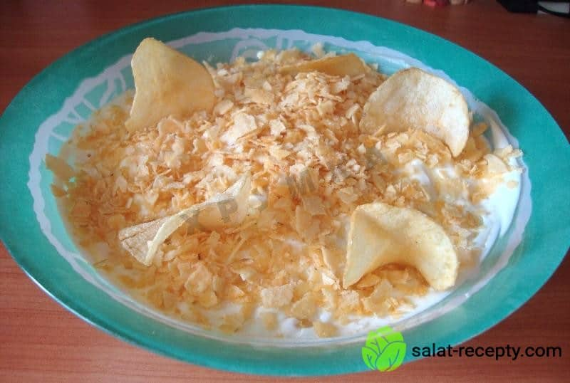 Салат парус рецепт