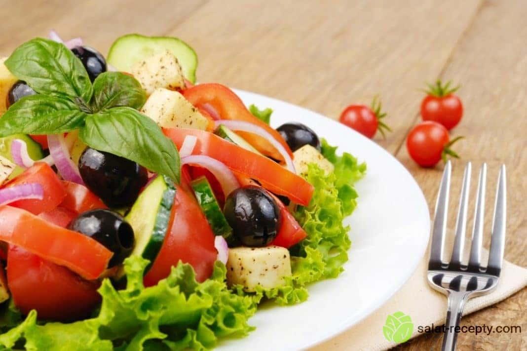 Диетический греческий салат рецепт
