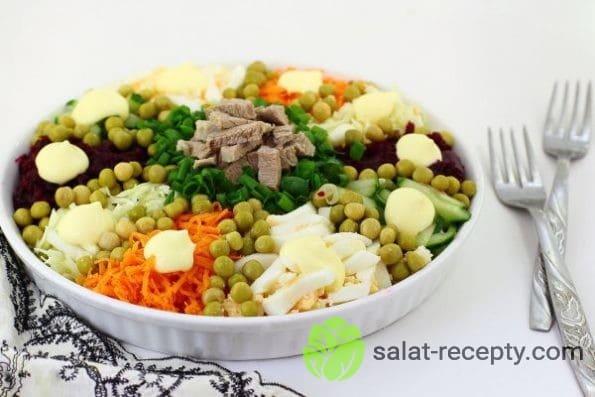 рецепт салата ералаш