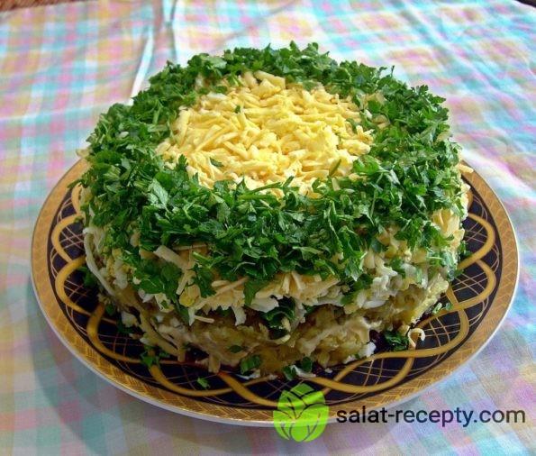 салат зимняя сказка рецепт