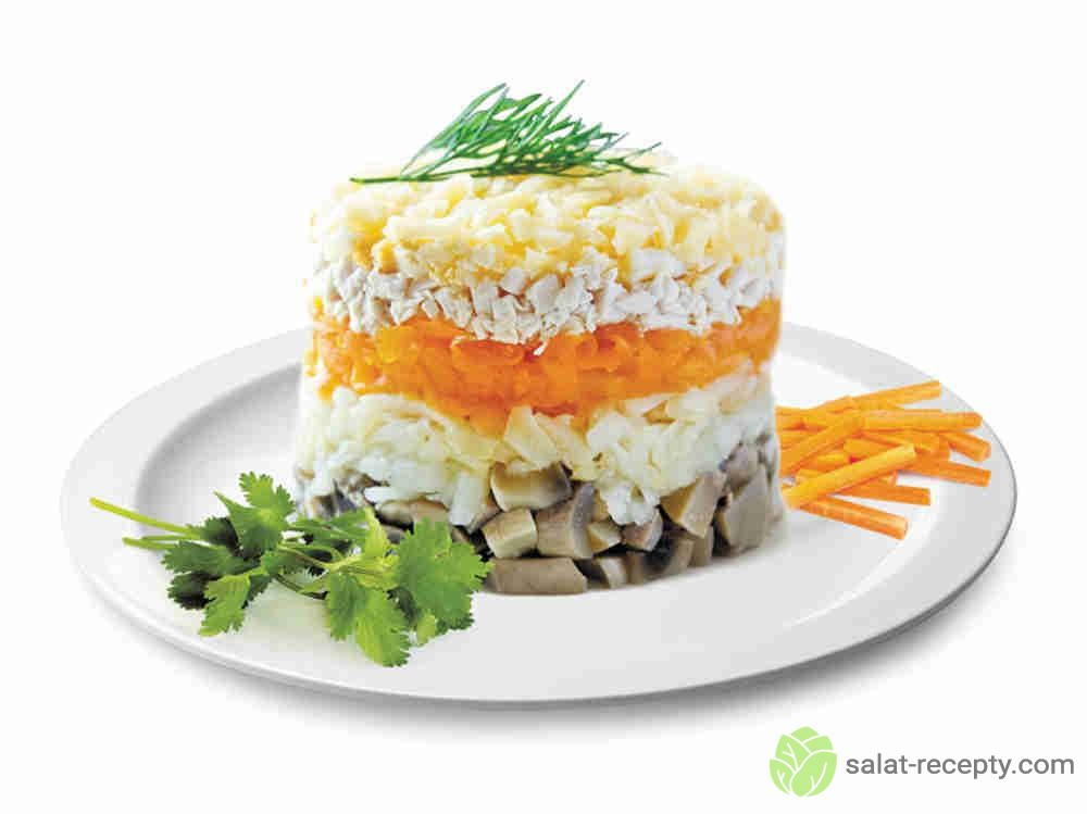 салат петроградский рецепт