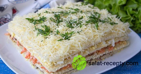 салат наполеон рецепт