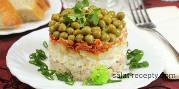 Салат Купеческий рецепт