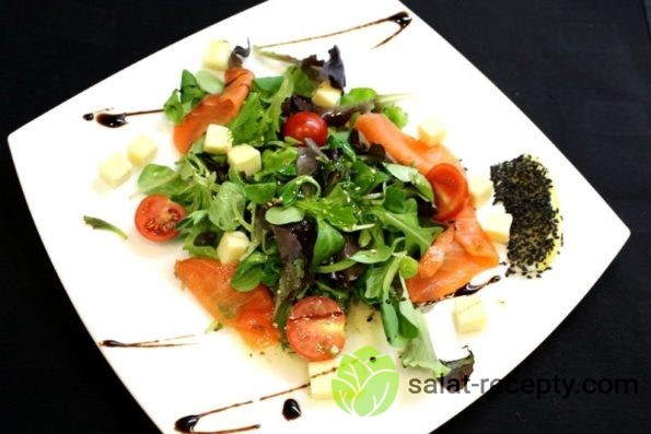 Норвежский салат рецепт