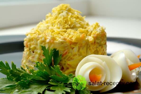 Салат Клязьма с редькой рецепт