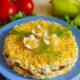 Салат Фантазия – рецепт с курицей и грибами