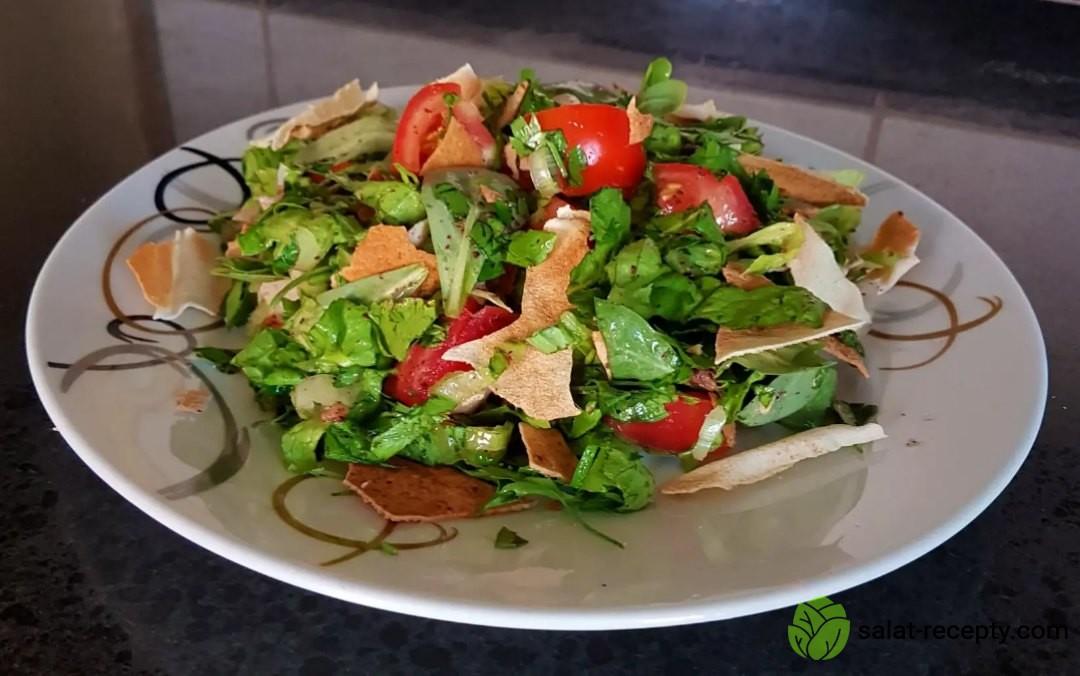 Салат Фатуш рецепт
